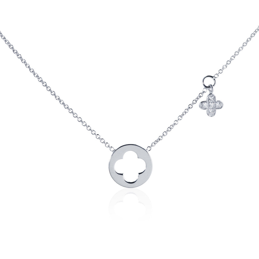Enchanted Moment Infinity Charm Necklace