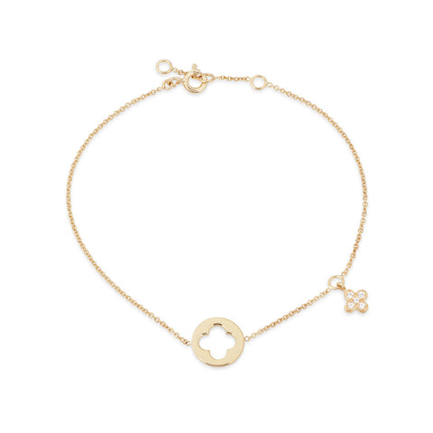 Enchanted Moment Infinity Emblem Bracelet