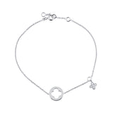Enchanted Moment Infinity Charm Bracelet