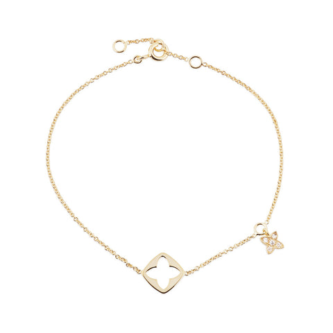 Enchanted Moment Lotus Emblem Bracelet