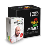"PREORDER: Juice Comedy presents White Yardie ""Ah Wah Yah Meme"" Combo Pack"