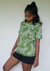 Butterfly T-shirt Green