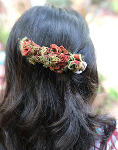 Frill Two Tone Hairclip