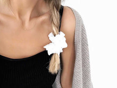Scrunchies - Broderie Anglaise