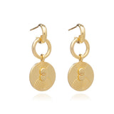 Luminary Statement Loop Earrings-Gold