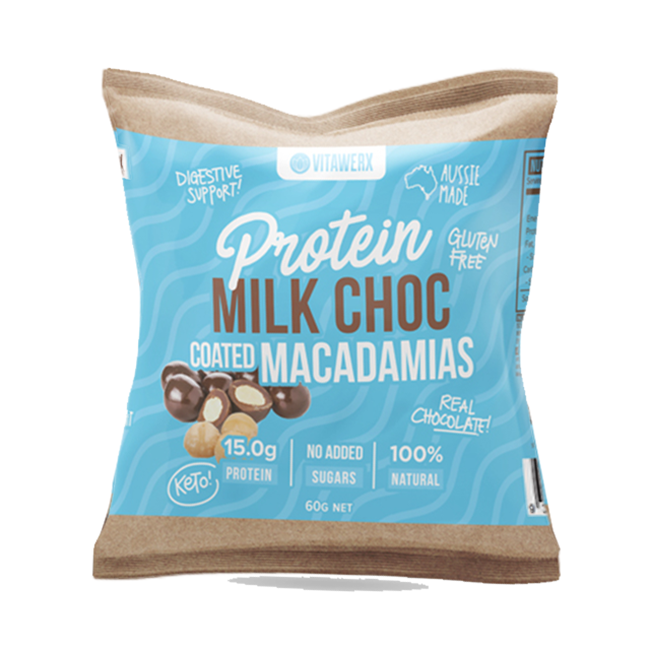 Vitawerx Quinoa Chocolate Pieces-Protein Snack