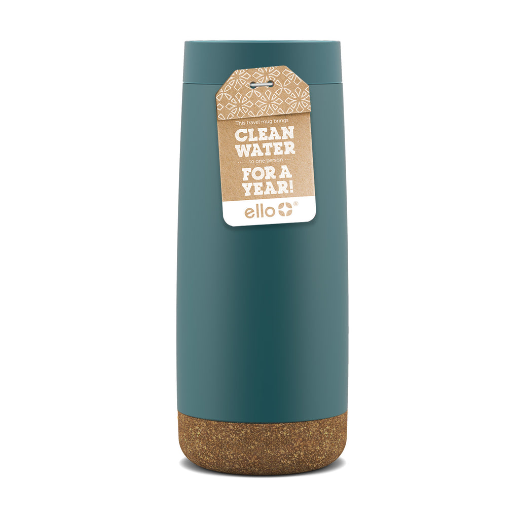 Clean Water: Cole 16oz Vacuum Insulated Stainless Steel Travel Mug
