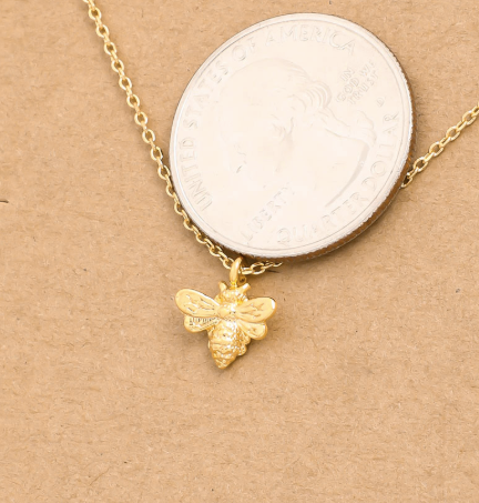 Dainty Bee Necklace