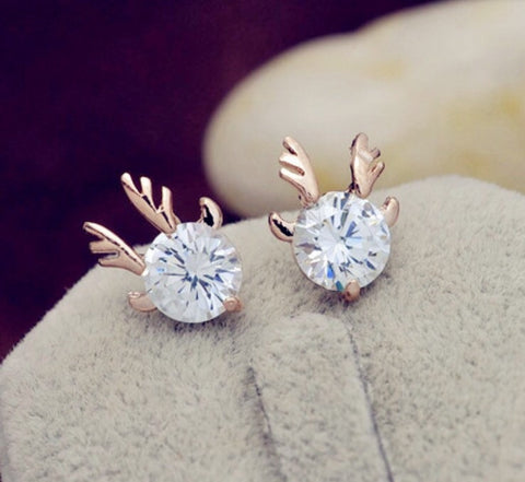 Reindeer Earrings (In Stock)