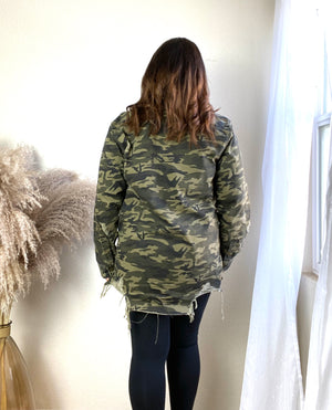 Load image into Gallery viewer, camouflage jacket