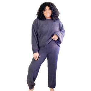 Load image into Gallery viewer, plus size loungewear sets