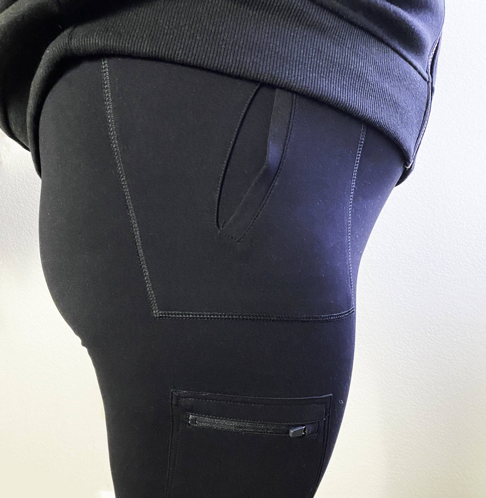 plus size black tracksuit bottoms
