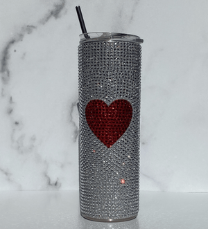 Load image into Gallery viewer, rhinestone tumbler cup