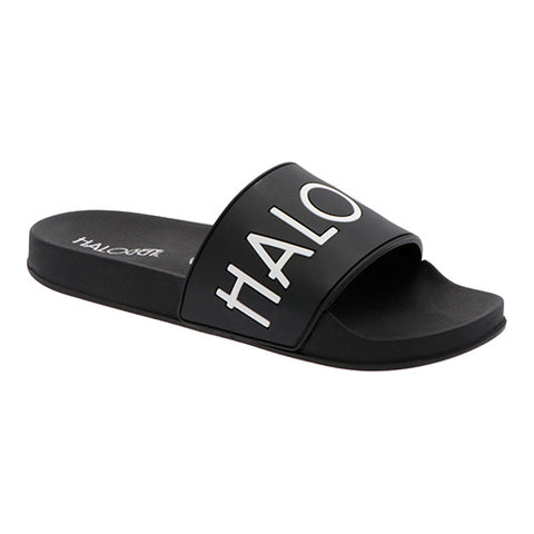 Sandalias Playeras  HGN by MR SHU Color Negro Modelo Perry