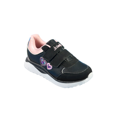 Tenis Marca A Point Color Negro/Dusty Estilo 4078