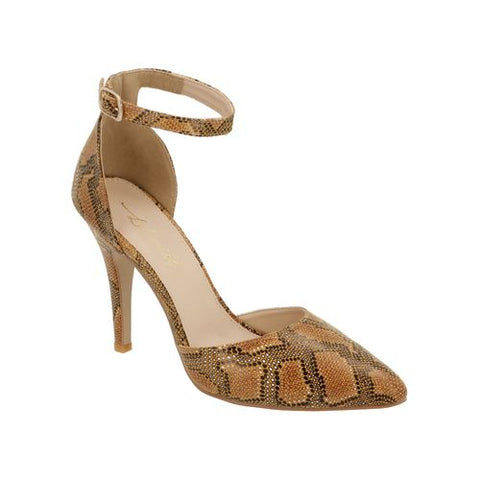 Zapatillas  Lili Mill By Sprinkles Color Ocre Estilo 6808