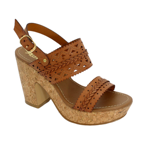 Zapatillas  Calzado Alondra Color Tan Estilo 7020