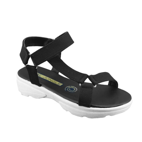 Sandalias Real Jungle Color Negro Modelo Cat35