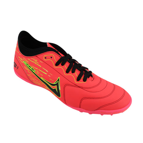 Tenis Deportivos Indoor Mayckers Color Salmon Neon Modelo 1194