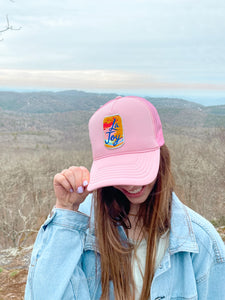 la joy trucker hat