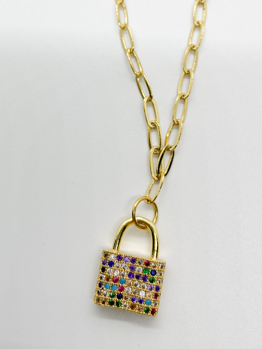 pont des arts necklace