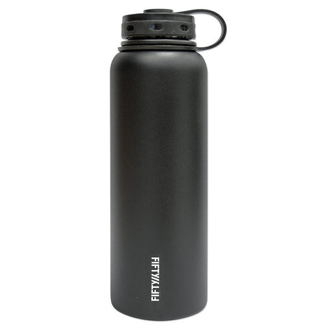 Vacuum Insulated Hydration Bottle - BLACK - 40 oz