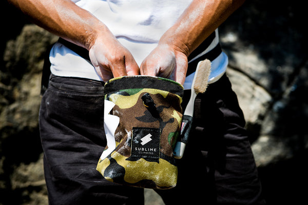 Sublime Climbing Camouflage Icon Chalkbag