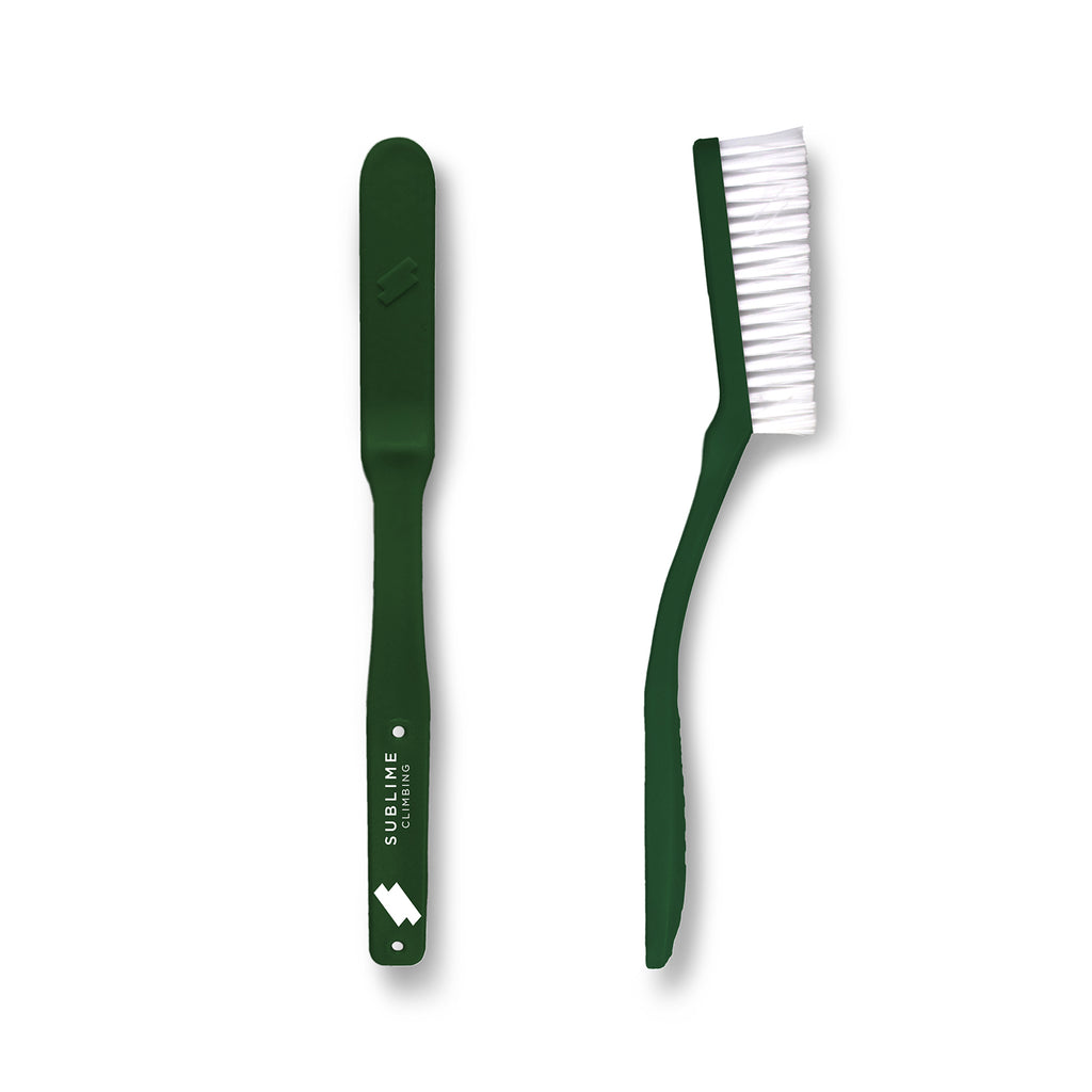 Vegan Friendly Slimline Climbing Brush - Limited Edition Forest Green