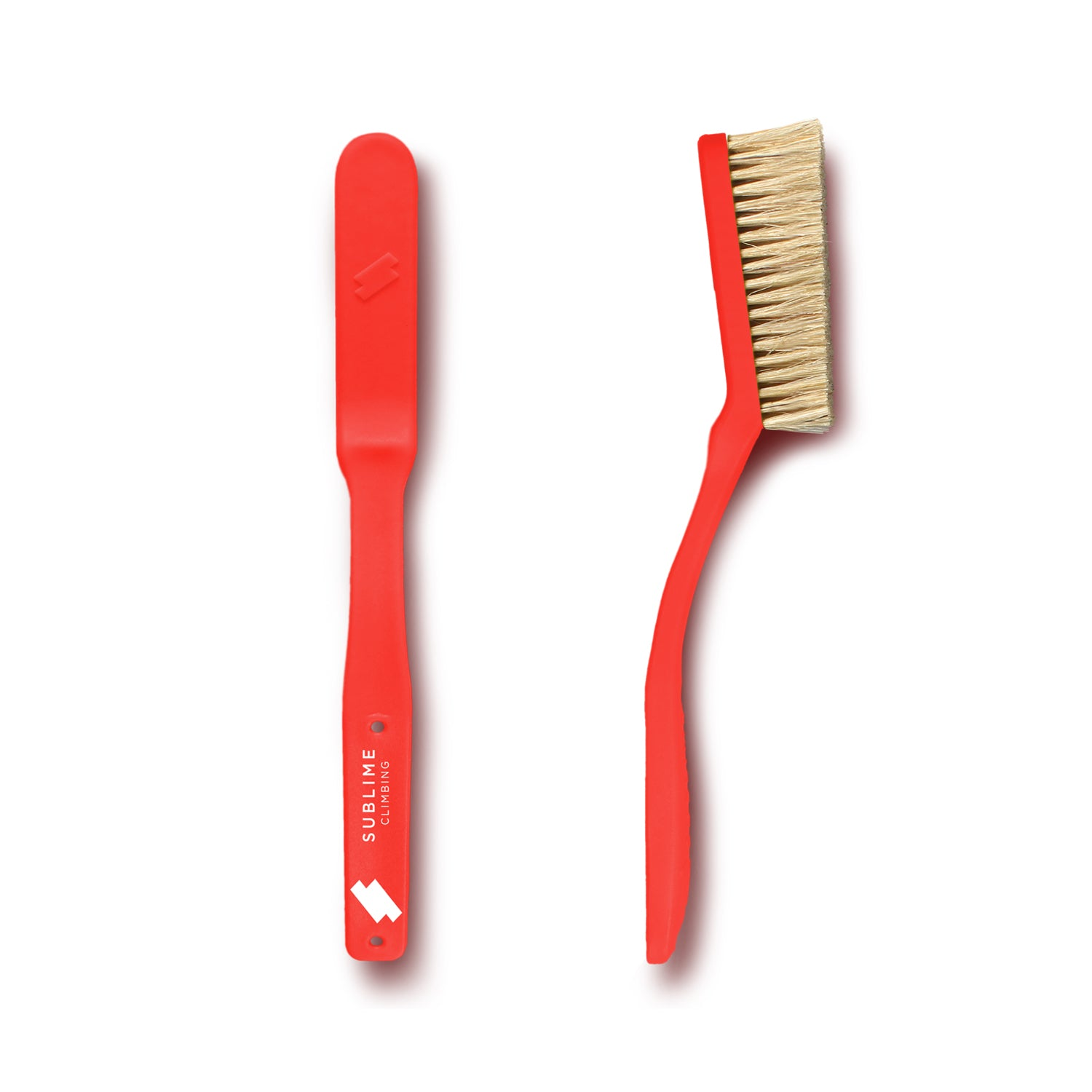 Slimline Climbing Brush- Red