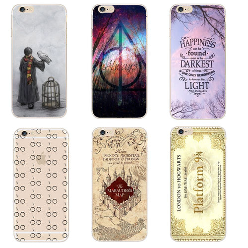 coque iphone 7 harry potter transparente