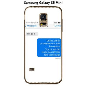 coque samsung galaxy s5 mini original