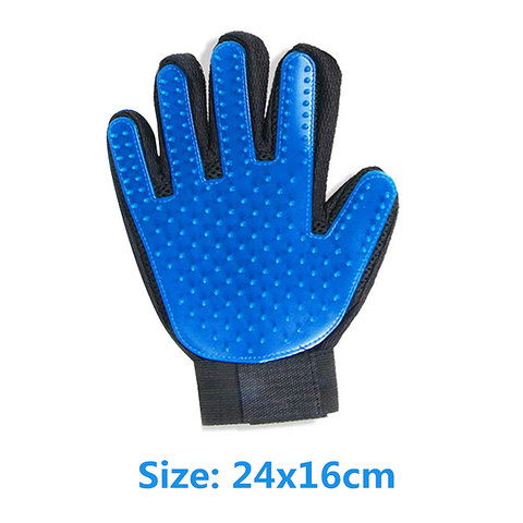 Dog Brush Glove Size