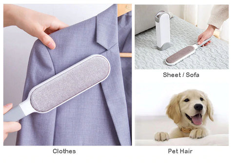 Double-sided Pet Hair Remover useful