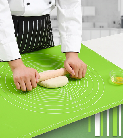 Easy Clean Silicone Pastry Mat good for your kitchen