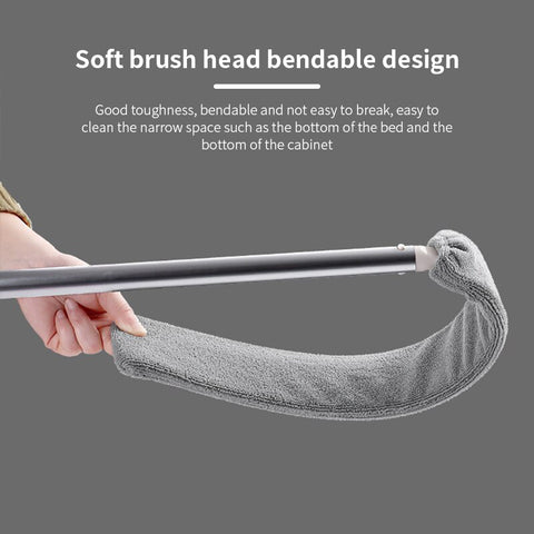 Extendable Dust Brush - Dust Head Can Be Bendt