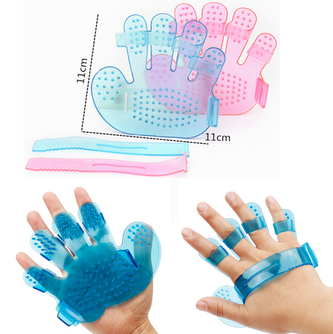 Dog Brush Glove Outdoor Version