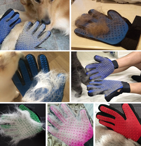 Dog Brush Glove for dog, cat