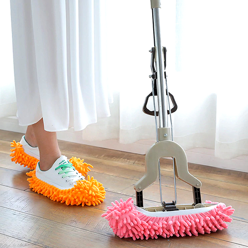 Easy Mop Slippers (2pcs) - Vivid Wardrobe