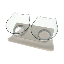 Load image into Gallery viewer, Non-slip Twin Cat Bowls - Vivid Wardrobe