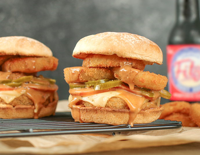 BBQ Ranch Chik'n Burger