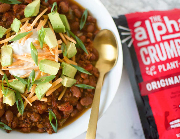 Beefy Vegan Chili