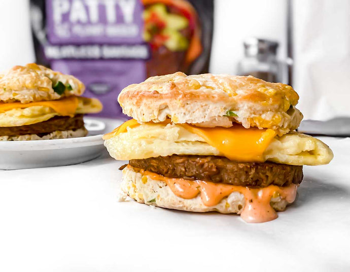 Jalapeno Cheddar Breakfast Biscuits