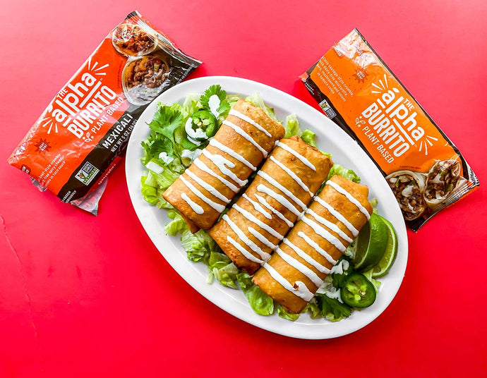 Alpha Burrito Chimichangas