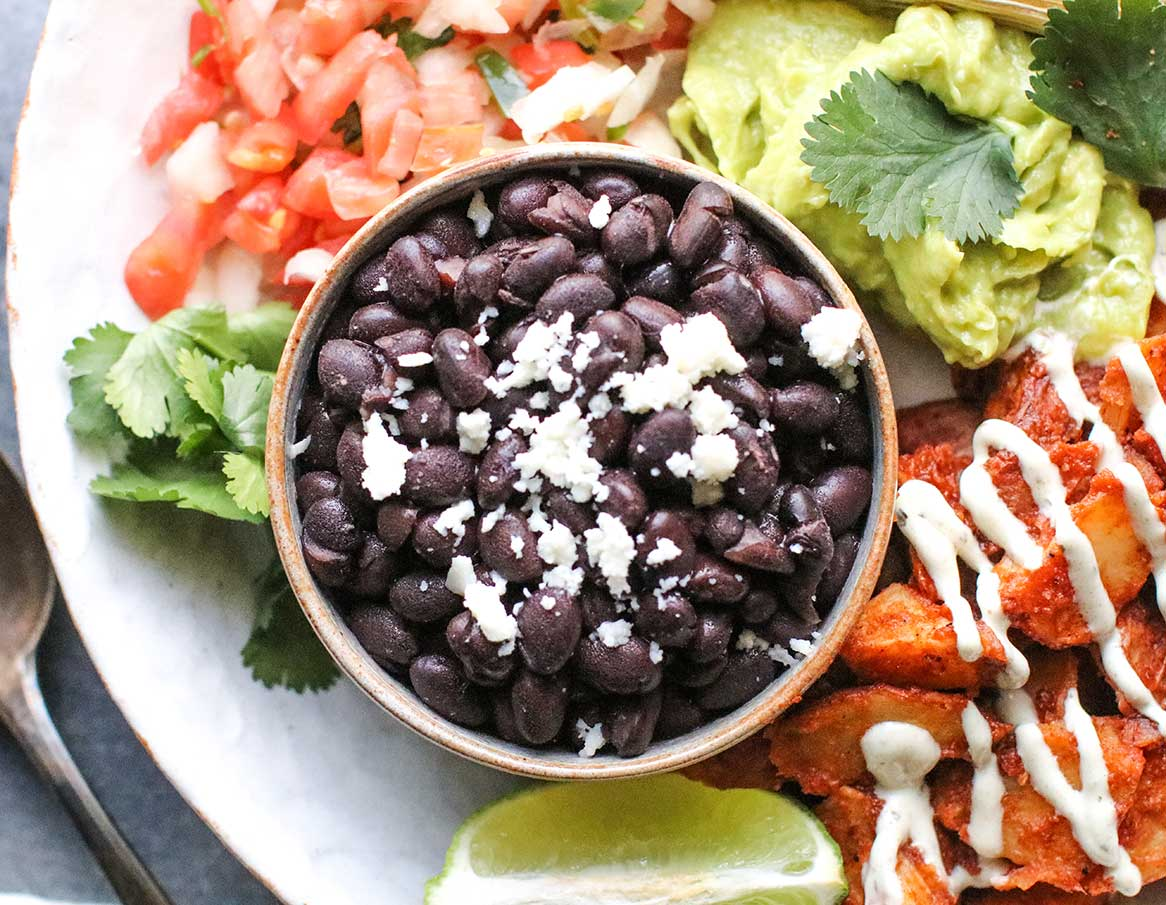 Chili Lime Black Beans