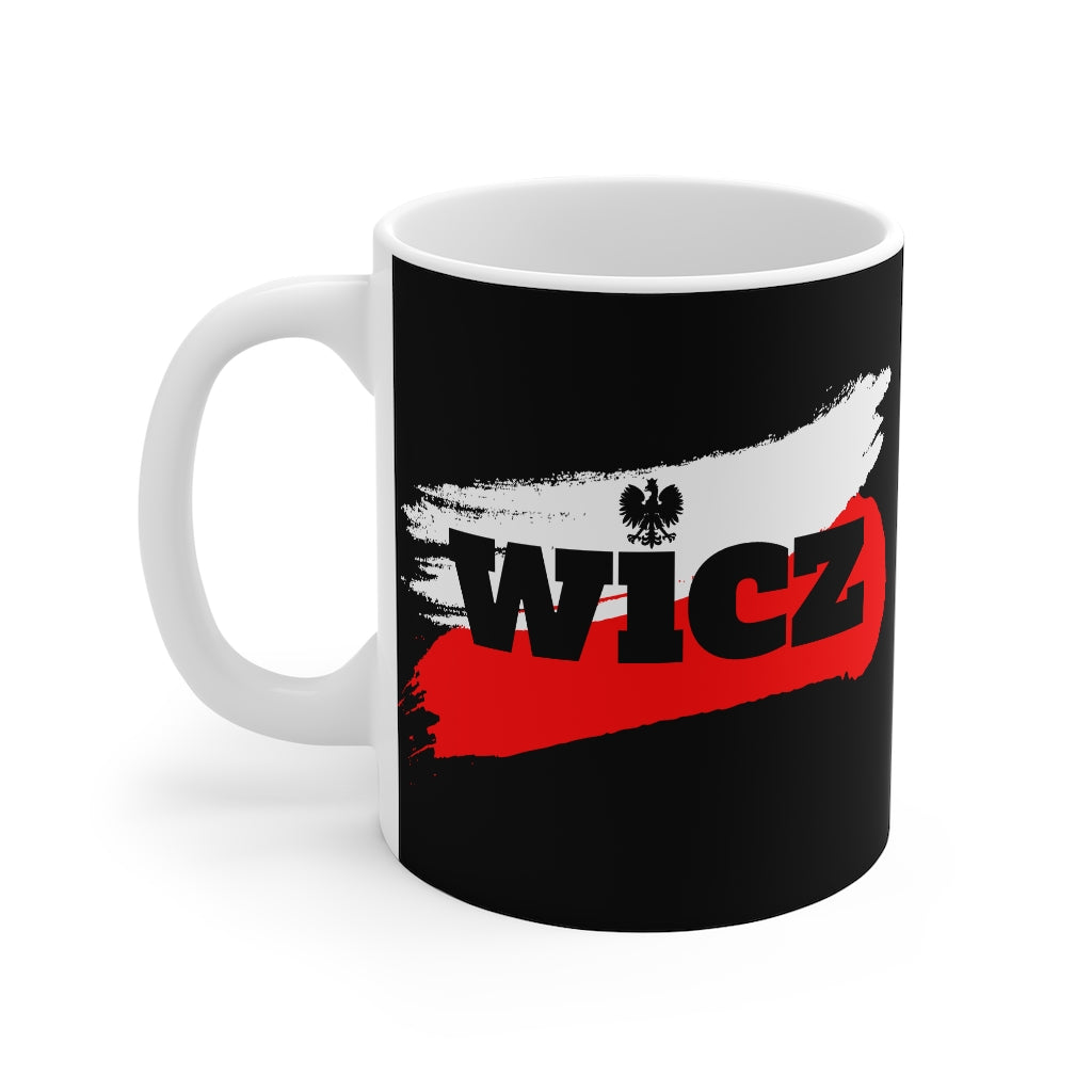 WICZ Polish Surname Coffee Mug 11oz