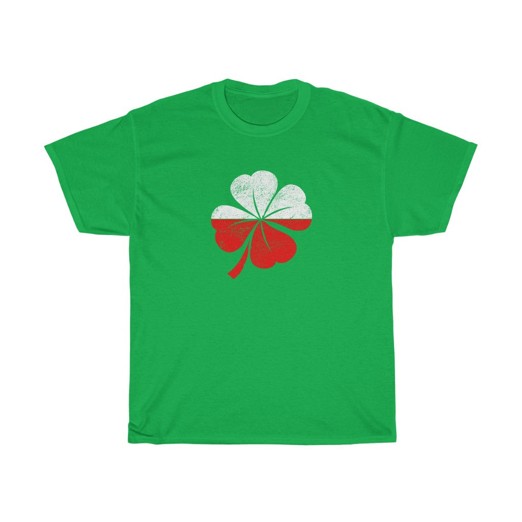 Polish Irish Clover Shirt
