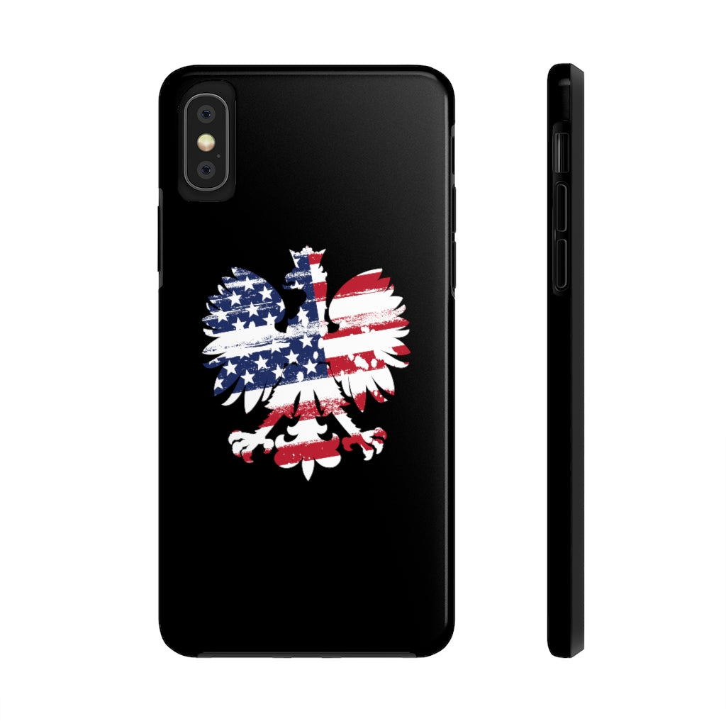 Polish American Eagle Tough Phone Case