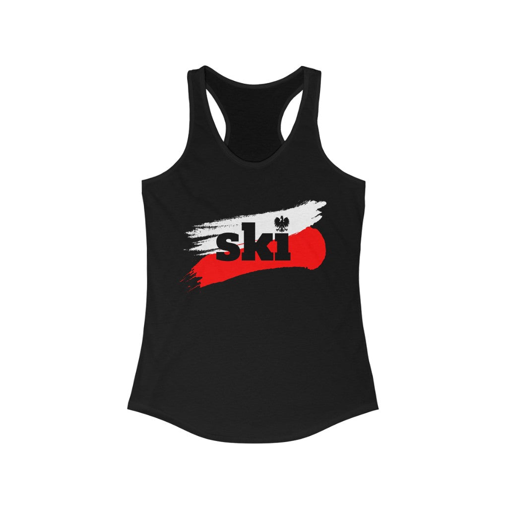 Women's Ideal Racerback Polish Tanktop - SKI