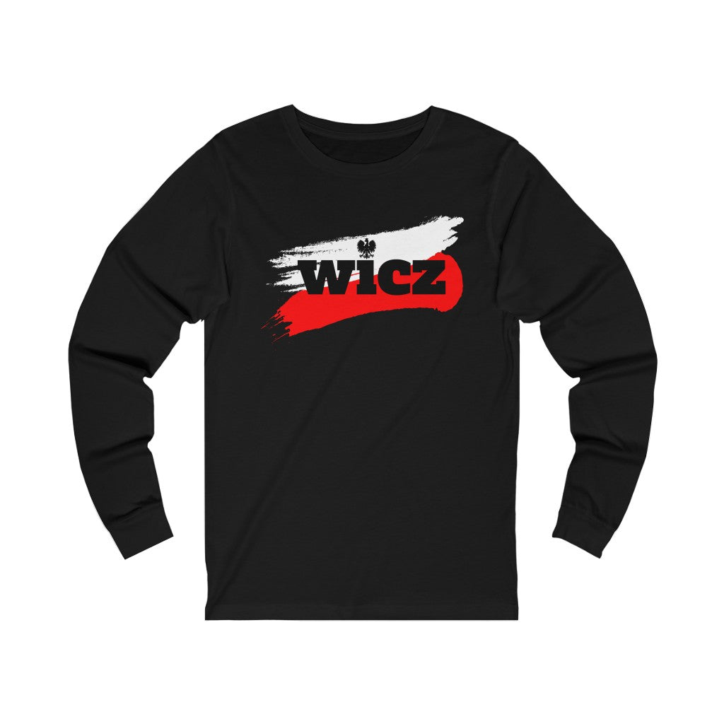WICZ Polish Surname Long Sleeve Tee