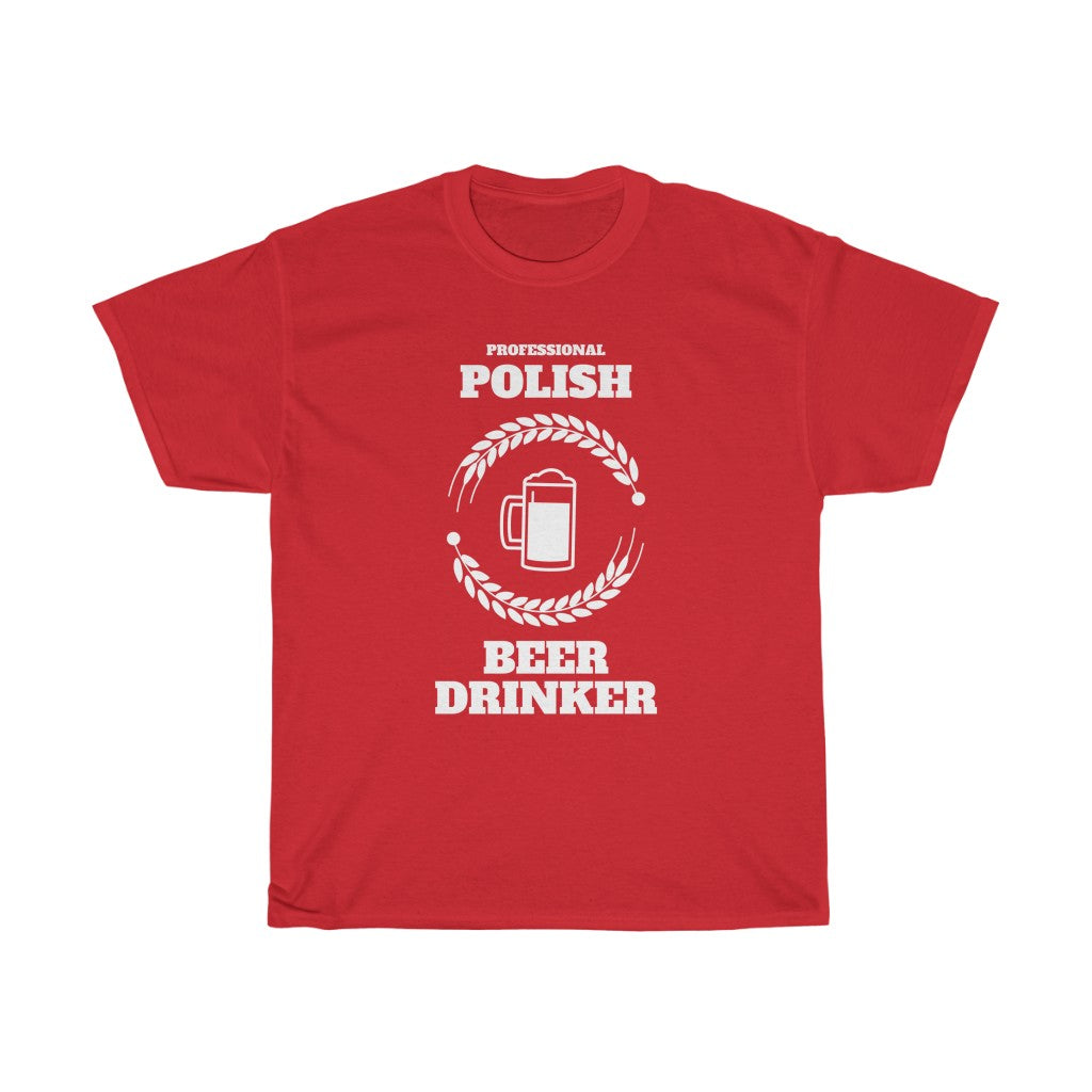 Professional Polish Beer Drinker T-Shirt